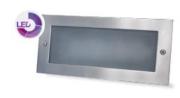 703405 - 8433373034051 Apliq.rect.alum.emp.pared LED5W 6000K-Box emp.inc