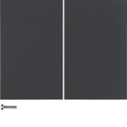 85648175 - K.1/K.5 - tecla quad KNX RF, antr mate BERKER EAN:4011334381754