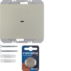 85655273 - K.1/K.5 - BP simples KNX RF, aço inox BERKER EAN:4011334370567