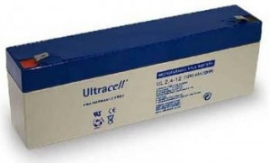 Bateria Chumbo 12V 2,4Ah (178x35x61 mm) - Ultracell