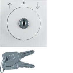 BERKER - 1083190900 - S.1/B.x - bot.rot. chave estores, brc mt 23