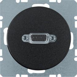 BERKER - 3315402045 - R.1/R.3 - tomada VGA, preto 23