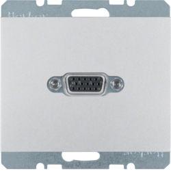 BERKER - 3315407003 - K.1/K.5 - tomada VGA, alum lac 23