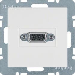 BERKER - 3315408989 - S.1/B.x - tomada VGA, branco 23