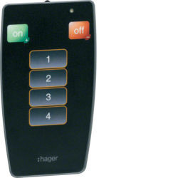 EE808 - Telecomando IV p/ comando det. presença HAGER EAN:3250617579186