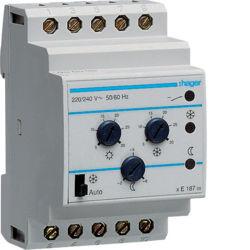 EK187 - Termóstato multifunção HAGER EAN:3250612311873