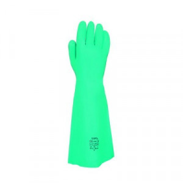 Equipamentos de Protecção - 5828 - Luva Nitrilo Verde s/Suporte 8