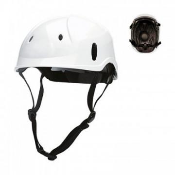 Equipamentos de Protecção - 7082 - Capacete Alpista em ABS c/Ajuste por Roda Branco