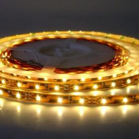 Fita LED SMD3528 60LED'S/MT 4,8W/M IPN0 Branco Quente (Rolo de 5 metros)