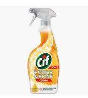 Higiene Pessoal, Detergentes e Ambientadores - 4104 - Cif Power and Shine Cozinha Pistola 750ml K.M.S