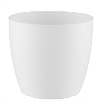 HORTA E JARDIM - 2294 - Vaso San Remo 16cm Branco Artevasi