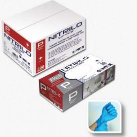 HOSPITALAR - GD24 - P - Luvas NITRILO AZUL FLASH POWER Descartável com substancia revestida TAM P (50 uni) SANTEX