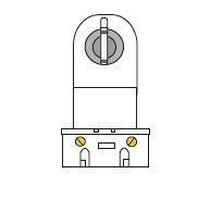 JSL Iluminação Suporte Simples (ap. mecânico) -
