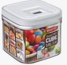 KETER CURVER 217829 Grand Chef Cube 0,8L P(cm)11,8 A(cm)10 L(cm)11,8