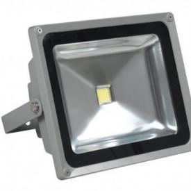 Projetor LED 4ª Geração MultiChip 50W Branco Quente
