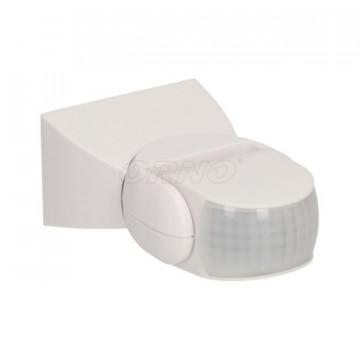 Sensor De Movimento Ajustável Ip65 180º Branco