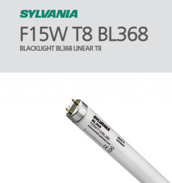 SYLVANIA - LAMPADA MATAINSECTOS SYLVANIA 15 W G13 TUBULAR 451,6 MM 26MM