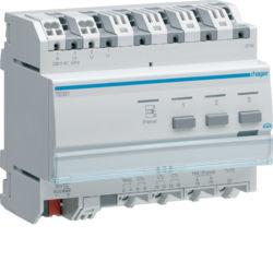 TE331 - Indicador consumos eléctricos KNX HAGER EAN:3250617574051