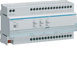 TXM632C - Actuador estores/pers 12 canais 230V KNX HAGER EAN:3250616048737