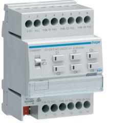 TXM646T - Actuador aquec. 6c 24/230V HAGER EAN:3250618502015