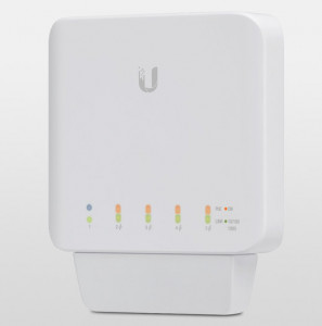 UBIQUITI USW-FLEX UNIFI SWITCH 5X GIGABIT ETHERNET (1X INPUT POE 4X OUTPUT POE) 46W