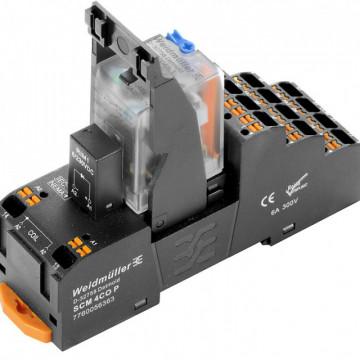 Weidmuller DRMKITP 24VDC 4CO LD/PB Push In 2576140000
