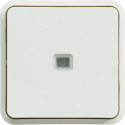WNA023B - cubyko - Bot.simples c/aviso/sinalz, brc HAGER EAN:3250617175234