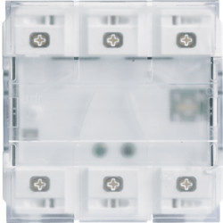 WXT316 - Mecanismo gallery KNX 6 teclas com LED HAGER EAN:3250618500417