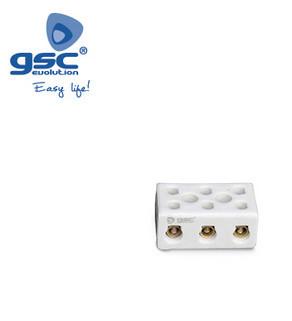 001000728 - Pacote de 3 tiras de conexão de cerâmica. 3 pólos 16mm2 30A 8436021947284