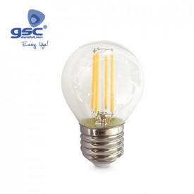 002005145 - 8433373051454 Lâmpada Serie Oro Esférica LED 4W E27 3000K