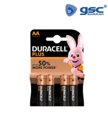009000112 - Pilha alcalina DURACELL Plus LR6 (AA), Blister 4 5000394017600