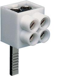 01 - KF82A - 3250613760021 Borne de ligação 2x16mm² (pont.) HAGER
