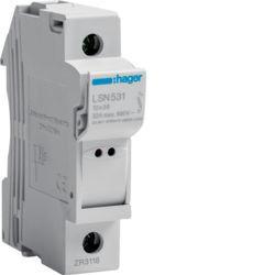 01 - LSN531 - 3250614120138 Corta-circuit. 1P 32A 400 V L31 c/sinal. HAGER