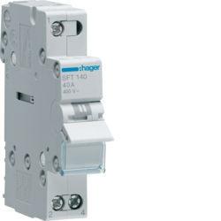 01 - SFT140 - 3250615510914 Inversor Modular c/ponto zero, 1P 40A HAGER