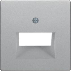 14096084 - Q.x - espelho RJ45 duplo, alumínio BERKER EAN:4011334443131