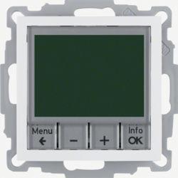 20441909 - S.1/B.x - termóst. programável, branc mt BERKER EAN:4011334354680