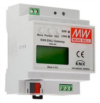 219633 - Gateway Mean Well KNX-DALI KDA - Quant. fornecida = 1 un