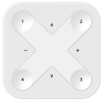 2213226.8BR - Comando Parede 8 botões Branco c/ pilha CASAMBI - Quant. fornecida = 1 un