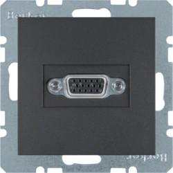 3315401606 - S.1/B.x - tomada VGA, antracite mate BERKER EAN:4011334330271