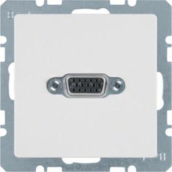 3315416089 - Q.x - tomada VGA paraf., branco BERKER EAN:4011334341789