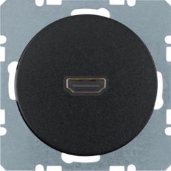3315422045 - R.1/R.3 - tomada HDMI, preto BERKER EAN:4011334365457