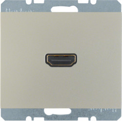 3315437004 - K.1/K.5 - tomada HDMI ficha 90º, inx lac BERKER EAN:4011334330691