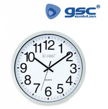 405005000 - Relógio de cozinha clássico branco 8433373024977