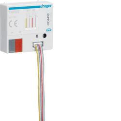 42 - TXB322 - 3250616049079 Mód. 2 entr. + 2 saídas Leds KNX HAGER