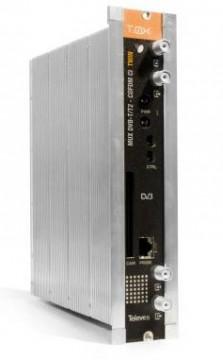 565201 -8424450170670 TELEVES - T.0X Transmodulador DVB-T/T2-QAM CI Twin (47...862MHz) Multiplexor: 2 Canais (DVB-T/T2) : 2 Canais (DVB-T) (1)