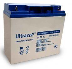Bateria Chumbo 12V 22Ah (181 x 77 x 167 mm) - Ultracell