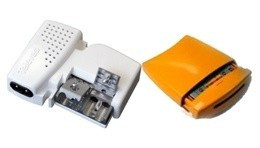 """568002 -8424450165935 TELEVES - Amplificador Mastro NanoKom 3e/1s """"EasyF"""" : UHF[dc]-UHF-VHFmix + Alimentação PicoKom 1e/2s """"EasyF"""" 24V-130mA. Kit com Refs.: 561701 e 5795"""