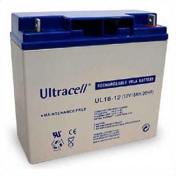 Bateria Chumbo 12V 18Ah - Ultracell