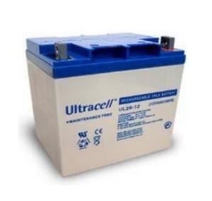 Bateria Chumbo 12V 28Ah (166,5x125x175mm) - Ultracell