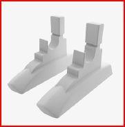 Kit Patas Modelo L1 para radiadores VOX e MONTBLANC+ L1P